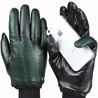 2015 Men's ELMA Classic Real Nappa Leather Touch Screen Gloves EM016NC1
