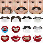 Billy Bob Pacifiers Dummy Baby Feeding Teether Pacy Orthodontic Nipples 9 Styles