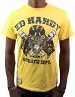 BRAND NEW ED HARDY CHRISTIAN AUDIGIER MEN'S SHIRT T-SHIRT YELLOW TIGER STONES