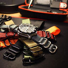 "5 Ring 12"" 30cm Diver Military Nylon Watch ZULU Long Strap Band 19,20,21,22,24mm"