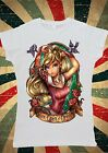 Disney Princess Sleeping Beauty Aurora Apple Women T-Shirt Vest Tank Top W129