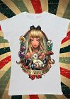 Disney Princess Alice's Adventures in Wonderlan Women T-Shirt Vest Tank Top W139