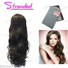 "Stranded 28"" Synthetic Long Curly Half Head Wig 3/4 Weave- Lacey"