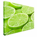 Tasty Lime slices Canvas Art Cheap Wall Print Home Interior