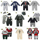 Baby Boy Clothes, Tuxedo/ Tie Suit / Policeman / Sport Tracksuit 0-24M Clearance