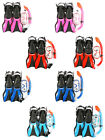 Kids SILICONE Mask + Snorkel + Fins Diving Set - Junior Snorkelling (SET B)