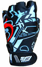 CHILDRENS KIDS BOYS GIRLS PADDED CYCLING BIKE CYCLE BICYCLE BMX GLOVES XXXXS-XS