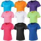 CLEARANCE H23 - JC005 AWDis Breathable Cool Womens Ladies Running Sports T-Shirt