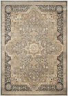 Taupe/Black Safavieh Power Loomed Vintage Area Rugs - VTG574D