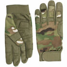 Tactical Lightweight Multicam / MTP Camouflage Military GLOVES S-XXL ( Cordura