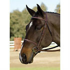 NEW Collegiate Fancy Raised Hunter Bridle - Horse Size