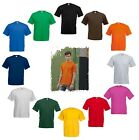FRUIT OF THE LOOM T-Shirt Valuewheigt T farbig kurzarm Gr S bis XXL
