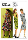 Butterick 5919 Collar Full Skirt Bow Dress Sewing Pattern B5919 3 Versions!
