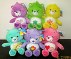 "CARE BEAR * 6 CHARACTERS * SOFT TOY/BEANIE/DOLL/PLUSH - NEW/TAGS! - 11""/28CMS"