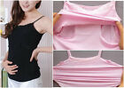 NEW Mummy Maternity Breastfeeding Nursing Lace Modal Tank Shirt Top 4 Colors