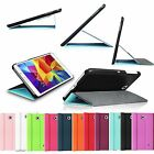 Slim PU Leather Stand Smart Book Cover Case for Samsung Galaxy Tab 4 8.0 8-inch