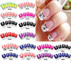 3D French Manicure Nail Art Stickers Decals Tips Free shipping