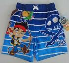 JAKE AND THE NEVERLAND PIRATES 2T 3T 4T Shorts SWIM TRUNKS Bathing Suit Disney