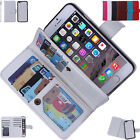 Detachable Flip Leather Wallet Card Slot Case Cover for iPhone Samsung HTC LG