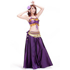 SF29# Belly Dance Costume Satin (303# BH Top,Skirt) 15 Colors