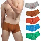 2015 Men Sexy Bulge Trunks Boxer Pouch Brief Shorts Nightwear Underwear S/M/L