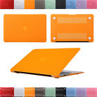 """Plastic Hard Case Cover For Macbook Air Pro Retina 11""""13""""15"""" Shell + sleeve bag"""