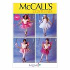 McCalls 6906 Girls Toddlers Fairy Angel Fancy Dress Costume Sewing Pattern M6096