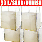 FIBC Bulk Bags For Builders and Garden Waste - 1 tonne ton storage rubble sack