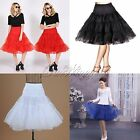 "26"" 50's Wedding Prom Party Long Petticoat Underskirt Slip PETTISKIRT TUTU Roll"