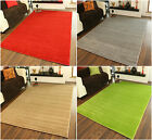 Plain Modern Extra Small Soft Easy Clean Quality Mats Cheap Thick Rugs Online UK