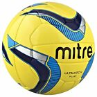 Mitre B4064 Fluo Ultimatch Football Training Quality Match Practice Soccer Ball