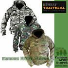 Mens Army Camo Zipped Hoody Fleece Lined UTP Hoodie Jacket Multicam MTP Airsoft