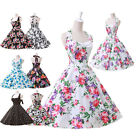 Vintage Style Retro Swing 50's Housewife Pinup Rockabilly Dance TEA Ball Dresses