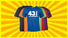 43rd Birthday T Shirt Happy Birthday T-Shirt Funny 43 Years Old Tee 7 COLORS