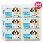 144ct Dog Diapers Disposable - Doggie Diapers -Paw Inspired Diapers  XS S M Bulk