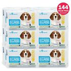 72 /144ct Dog Diapers Disposable Doggie Diapers Paw Inspired Diapers XS S M Bulk