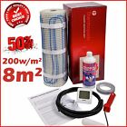 Electric Underfloor Undertile Heating Kit 200w 8m2 Thermopads FREE Delivery