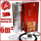 Under Wood Under Laminate Electric Underfloor Heating Kit 6m2 Dual Core