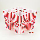 Внешний вид - Reuseable Popcorn Plastic Container Classic Movies Style Red White Superbowl Lot