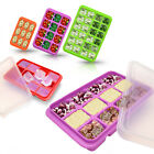 Korea Silicone Freezer Container Baking Mold Kitchen Cooking Tool Ice Nut Bakery