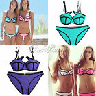Women Bandage Bikini Set Push-up Padded Bra Swimsuit Swimwear Free Fast Shipping