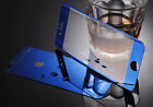Apple iPhone 6 & 6 Plus Front Back Tempered Glass Blue Coverage Protector I27
