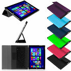 "Ultra Slim  Stand Case With PC Back Cover for 12"" Microsoft Surface Pro 3 Tablet"