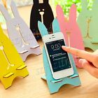 Universal Wooded Desktop Stand Dock Holder For iPhone 6/+ Samsung Galaxy S5 S6