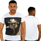 Hi Bull Dog Print Fitted T-Shirt Urban life Monkey Business Is HipHop Money Time
