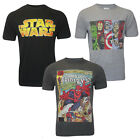 Mens's Boys Casual Comic Marvels ,Spiderman Star war ,Short Sleeve T-shirt Tops