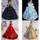 ST Fashion Clothes Wedding Evening Party Dresses Gowns Gift For Barbie Doll Girl