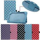1PC Simple Dot Smart Leather Folio Case Cover For Google Nexus 7 II 2nd Tide