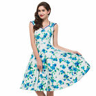 NEW COME VINTAGE Inspired 50s Rockabilly Swing Pin Up Evening PARTY Dresses PLUS