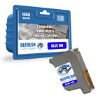 COMPATIBLE FRAMA 1018968 MATRIX FRANKING MACHINE BLUE INK CARTRIDGE (10408-801)